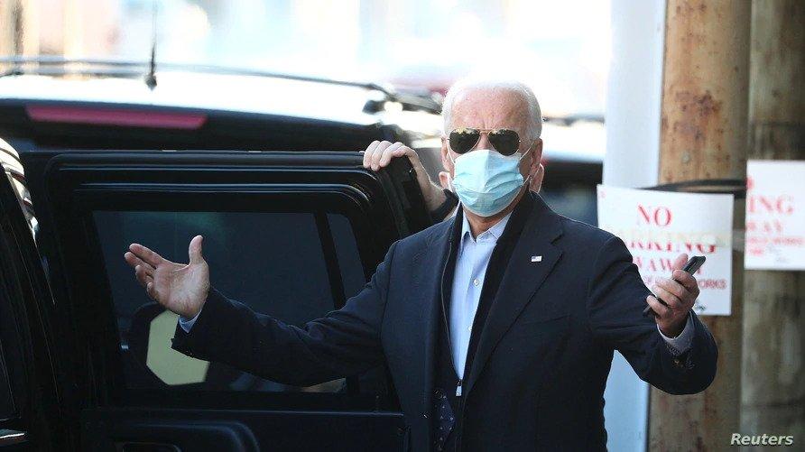 Biden Says Battle Against Coronavirus Needs Commander in Chief